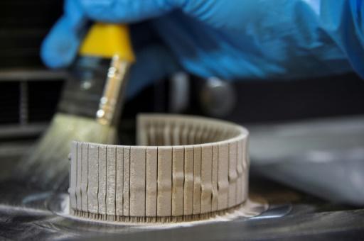 Grâce à la poudre d'or, les bijoux s'essayent aussi à l'impression 3D