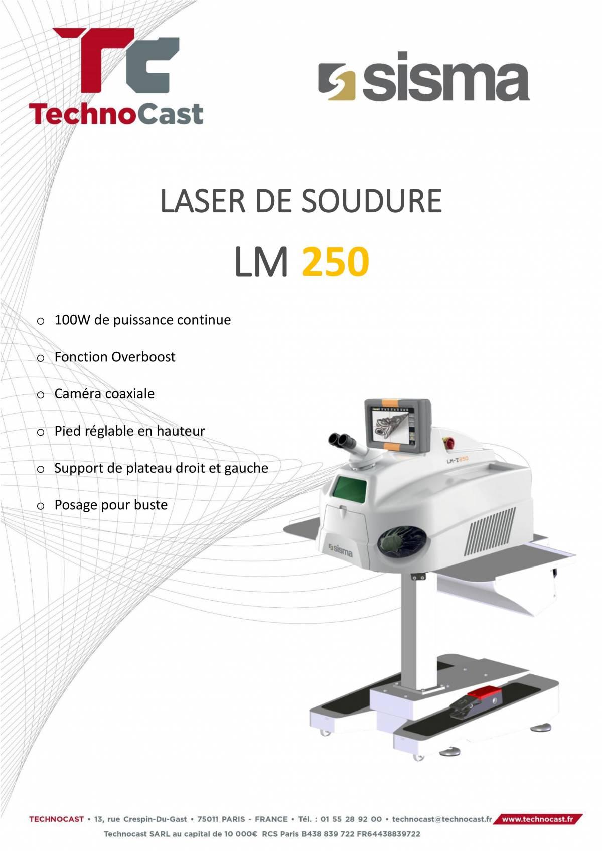 LM 250, notre laser de soudure le plus performant !
